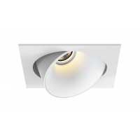 Downlight LED LUCAS orientable carré 100