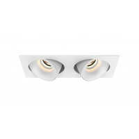 Downlight LED LUCAS double orientable 80