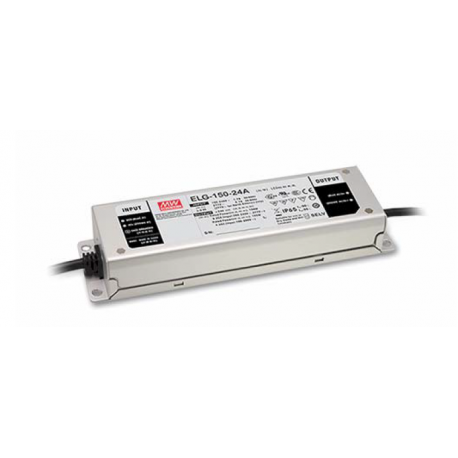 Driver LED MEANWELL 24v 6,25A IP67 DALI